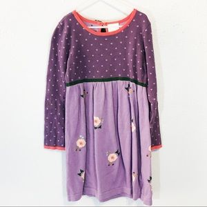 Hanna Andersson cotton purple dress size 130 (8)